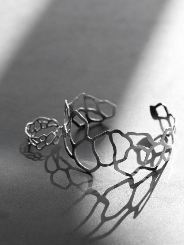bracelet et bague mucem argent